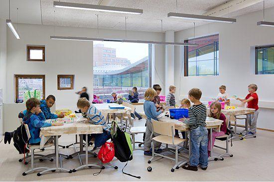 Saunalahti school in Espoo, Finland Photo by Andreas ...