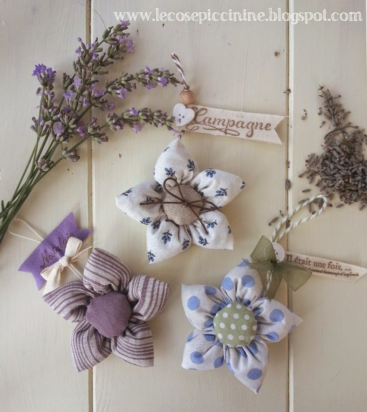 Le cose piccinine: Ricordi d'estate - Cadeaux con fiori di lavanda