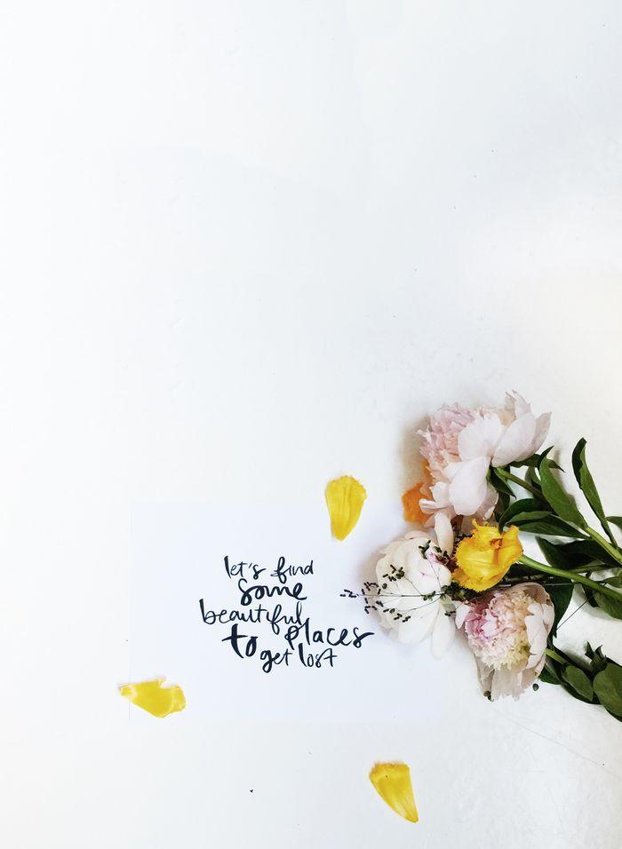 Bloesem Living   Modern Handwriting