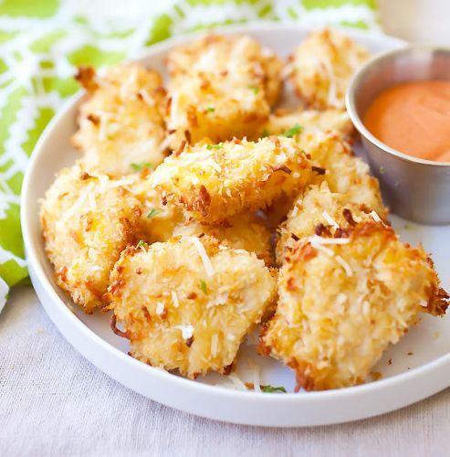 Recette facile de croquettes de poulet au parmesan!