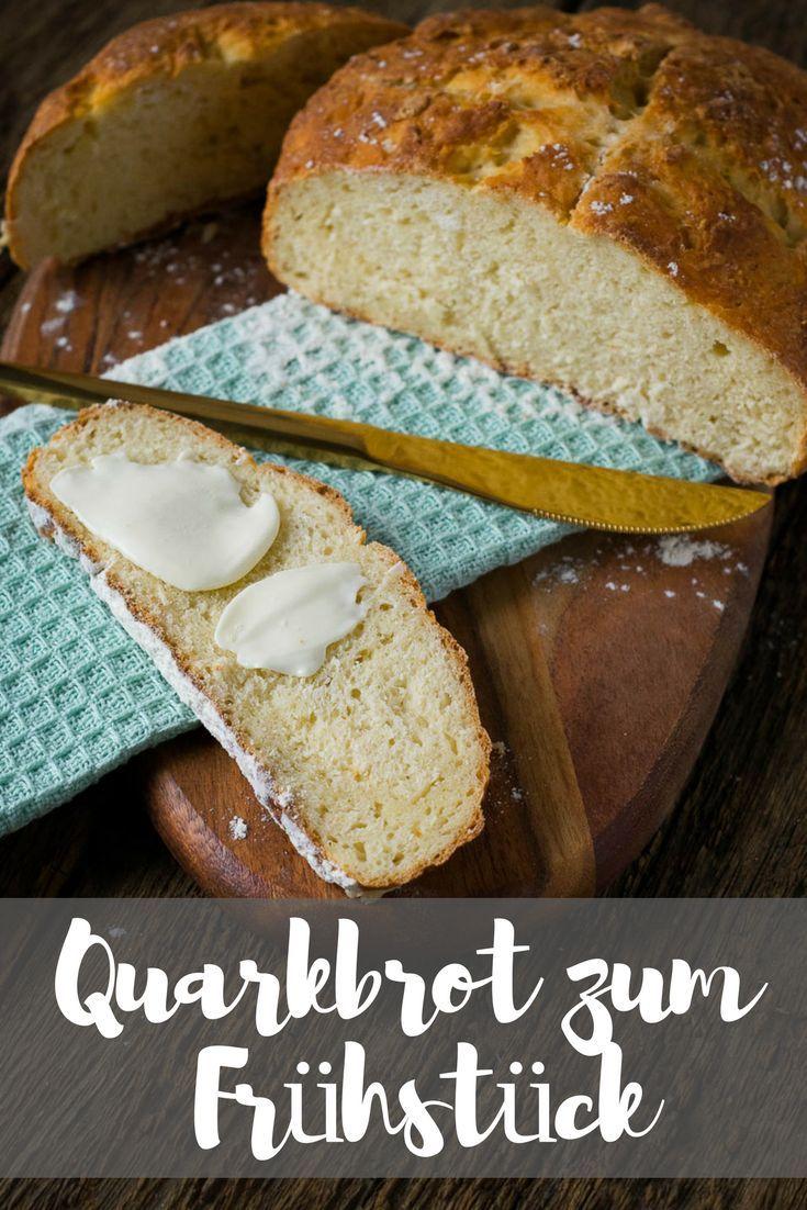 Ich backe mir mein eigenes Brot zum Frühstück - super einfach und mega lecker