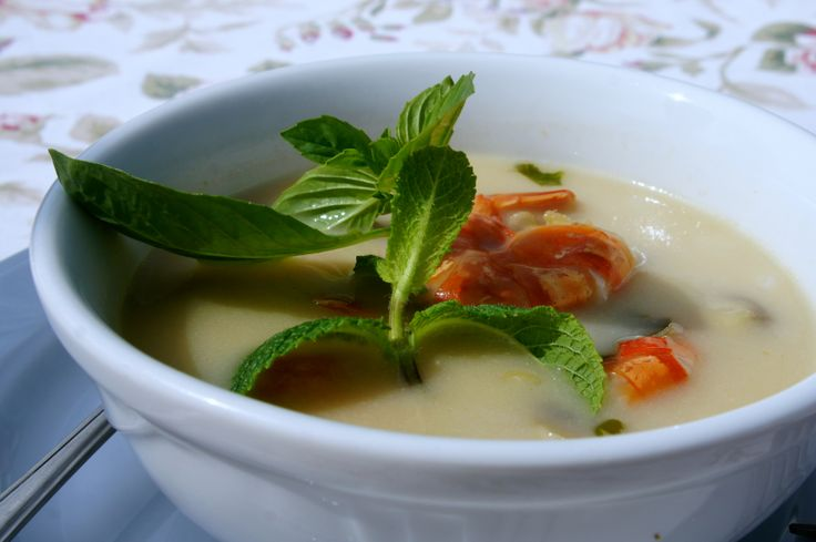 Thai soup by Robert Makłowicz (made on workshops last weekend)