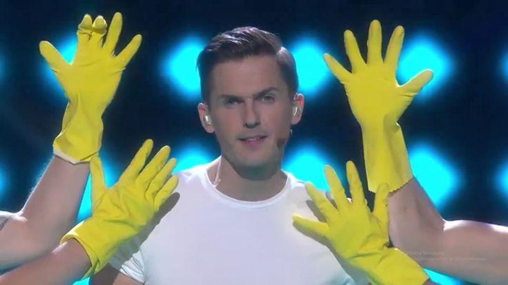 Melodifestivalen 2017-Din Mamma Jobbar Inte Här (1080p  60fps)  Fantastic mellan-act. =)