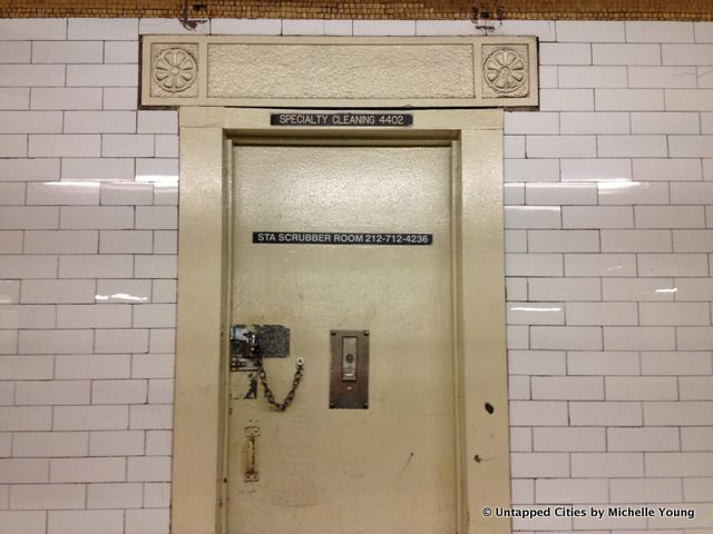 Cities 101: Where Do The Mysterious Phone Numbers on NYC Subway Station Doors Lead To? | Untapped Cities