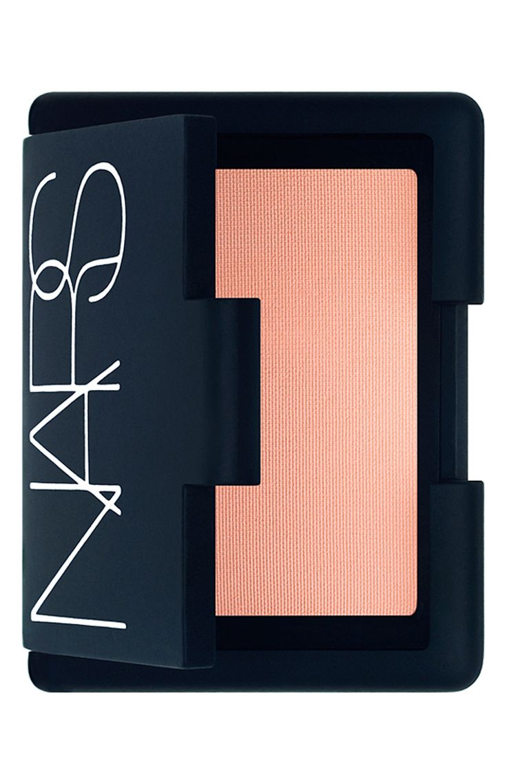 Love the natural, healthy glow this coral Nars blush gives the skin.