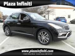 2016 Infiniti QX50 Base SUV(Malbec Black)Plaza Infiniti | Vehicles for sale in Creve Coeur, MO 63141