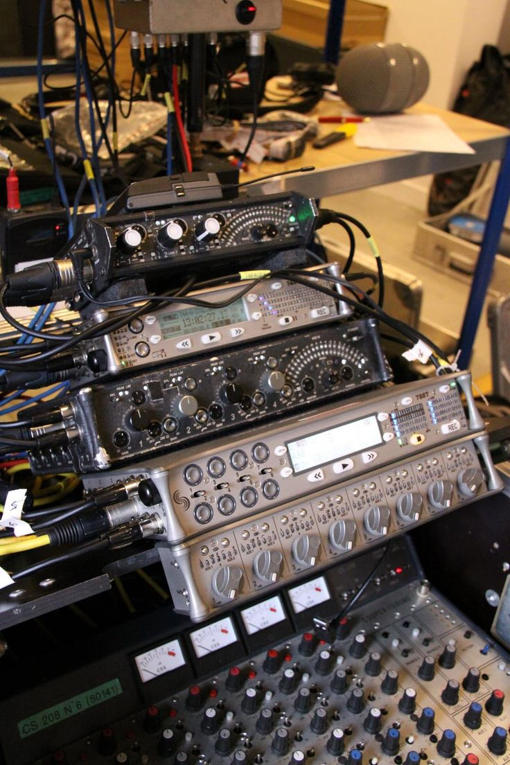 Sound Devices 788T - Sound Devices 744T