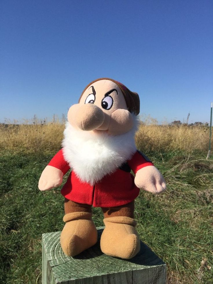 Grumpy Dwarf Stuffed Toy   | eBay