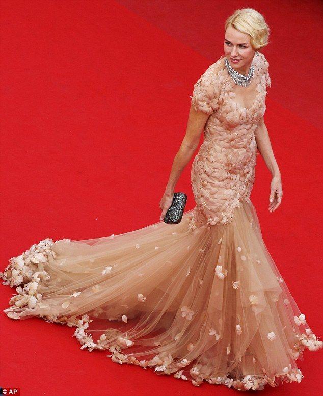 Cannes 2012 - Naomi Watts -  Marchesa
