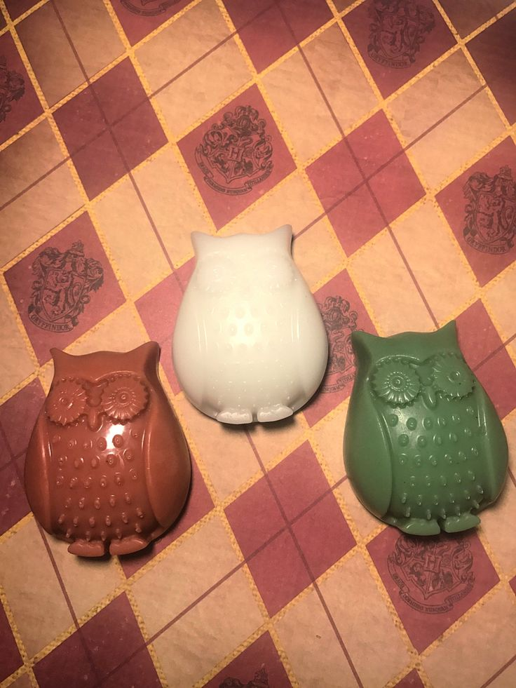 Harry Potter Owl Inspired Soap- hedwig, nerdy gift, hogwarts, gift for him, fantasy, gift for her by ArrunielSoapworks on Etsy