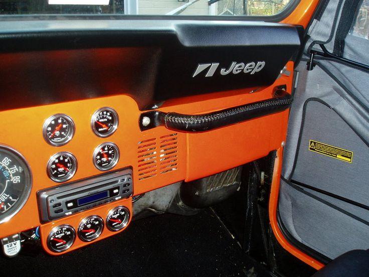1985 Jeep CJ, interior