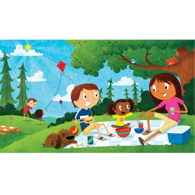 Family Picnic by Kyle Poling