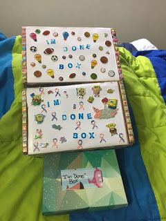 "The Cool Teacher Diaries: My ""I'm Done"" Boxes"