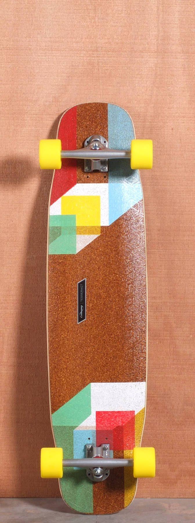 """Loaded 39"""" Tesseract Longboard Complete"""