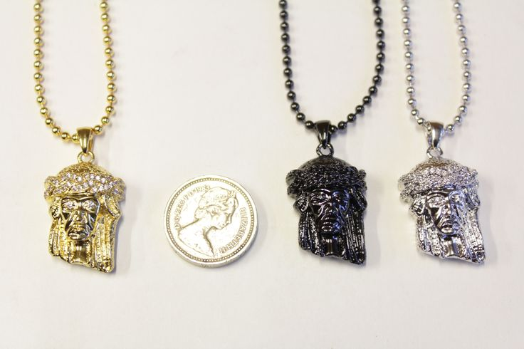 Jesus pieces disponible en ligne et en magasin http://everythinghiphop.fr/jesus-piece-bead-chains/  #micro jesus piece #jesus piece
