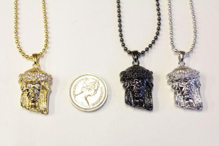 Jesus pieces disponible en ligne et en magasin http://everythinghiphop.fr/jesus-piece-bead-chains/  #micro jesus piece #jesus piece