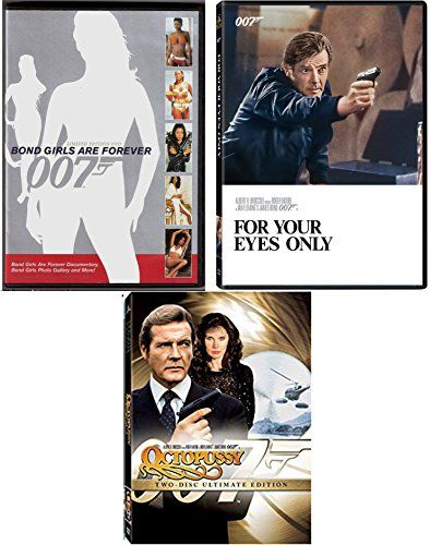 For your Eyes Only  OCTOPUSSY James Bond Two-Disc DVD & James Bond Girls 007 Set Roger Moore Ultimate edition movie col @ niftywarehouse.com #NiftyWarehouse #Geek #Gifts #Collectibles #Entertainment #Merch