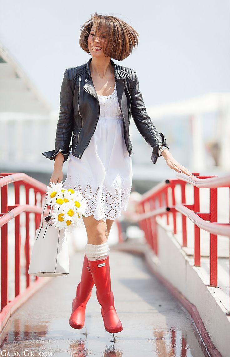 outfit for the rain by GalantGirl.com