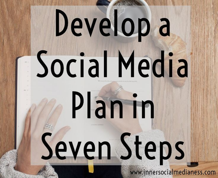 Develop a Social Media Plan in 7 Steps - It's good to have monthly goals and even better to have a plan for how your business uses social media. But where do you start? via @penneyfox