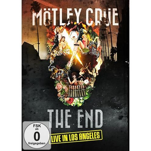 "DVD ""The End - Live in Los Angeles"" dei #MötleyCrüe."