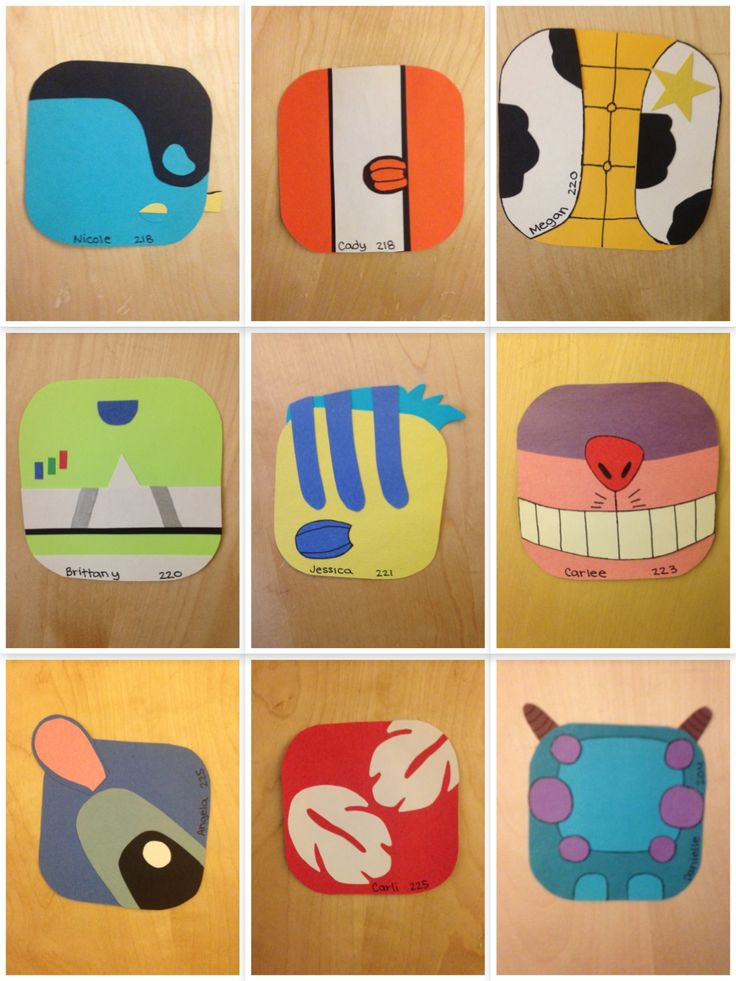 Disney door decs, Lucas