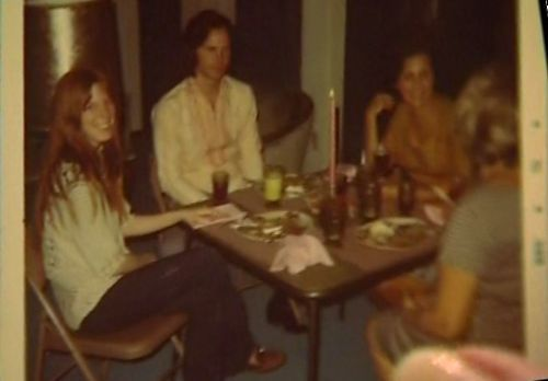 Jim Morrison Pamela Courson and friends, Jim's last ...