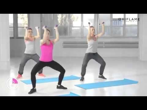 Двигайся с Орифлэйм 4   Упражнения для рук