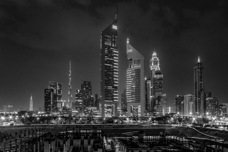 Dubai Financial District (B+W edit) Thinking of visiting Dubai? GET THE BEST DEALS ON ACCOMMODATION IN DUBAI HERE Our hotel…
