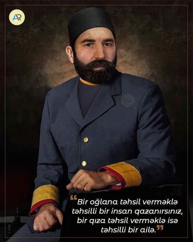 Boyuk Xeyriyyəci Haci Zeynalabdin Tagiyev Baku Azerbaijan Words Fictional Characters