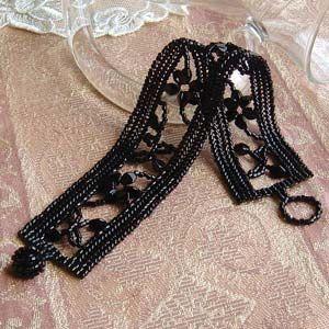 The Beading Room - Miyuki Kit Herringbone Stitch Stylish Bracelet Black, $19.79 (http://www.thebeadingroom.com/miyuki-kit-herringbone-stitch-stylish-bracelet-black/)