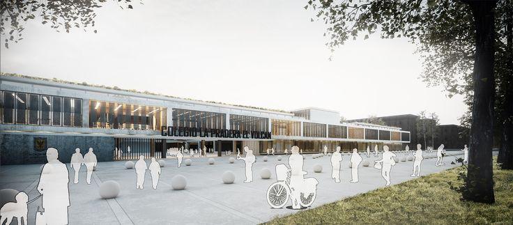 Imagen 3 de 30 de la galería de EMS Arquitectos, tercer lugar en concurso Ambientes de Aprendizaje del siglo XXI: Colegio Pradera El Volcán. Cortesía de EMS Arquitectos