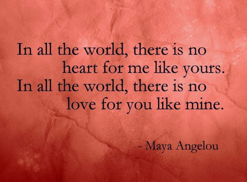 #MayaAngelou will never be forgotten. Her words of #love cross generations and live forever.