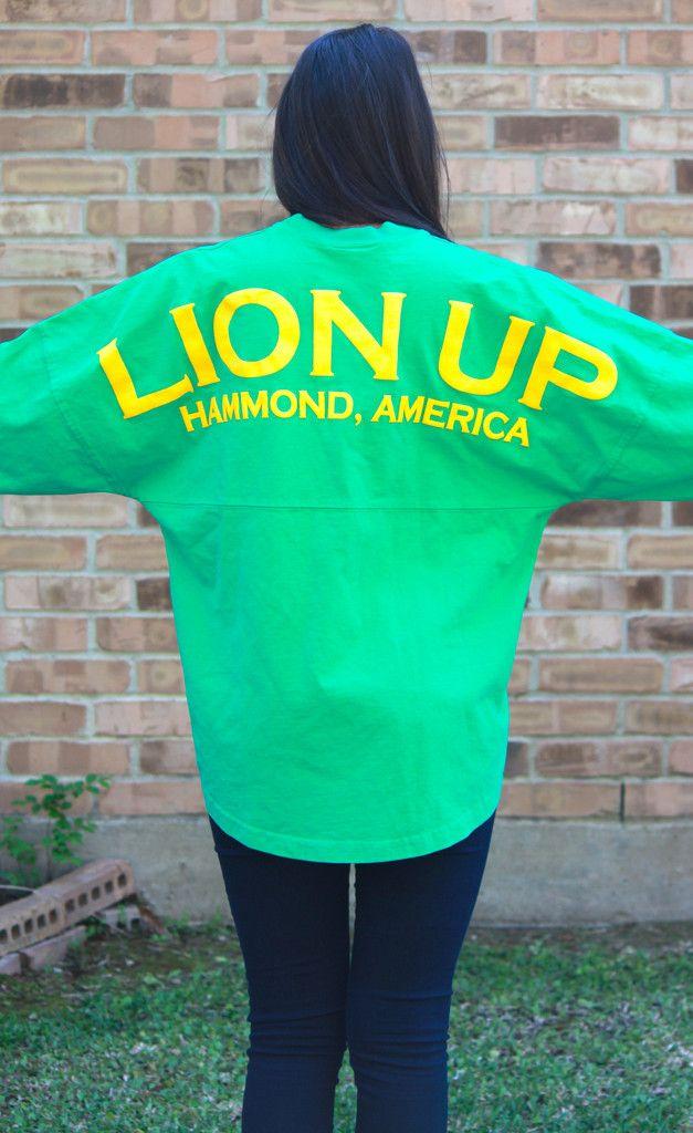 PRE-ORDER Lion Up Spirit Jersey: Green #LionUp #selu
