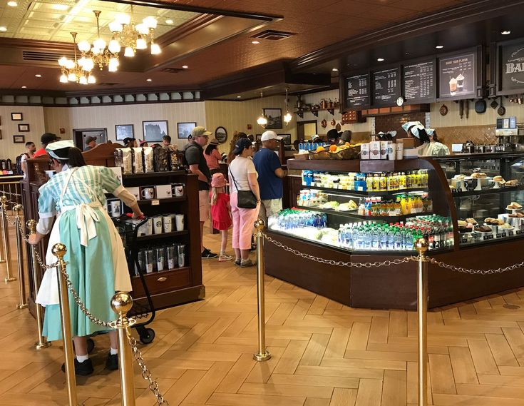Disney World recently opened four Starbucks locations — one each in Magic Kingdom, Hollywood Studios, Epcot, and Animal Kingdom. Take a look inside!