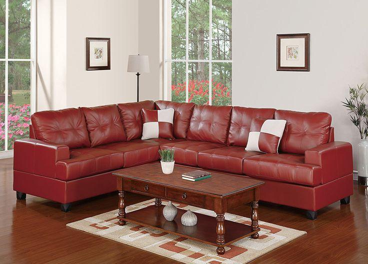 poundex bobkona karen reversible sectional u0026 reviews wayfair sectional sofa saleleather