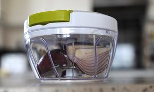 Kitchen gadgets review: mini chopper – a tool to shred both prejudice and vegetables | Life and style | The Guardian