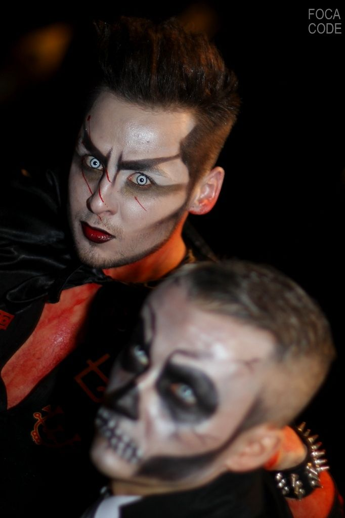 Halloween w Warszawie.  Halloween in Warsaw.