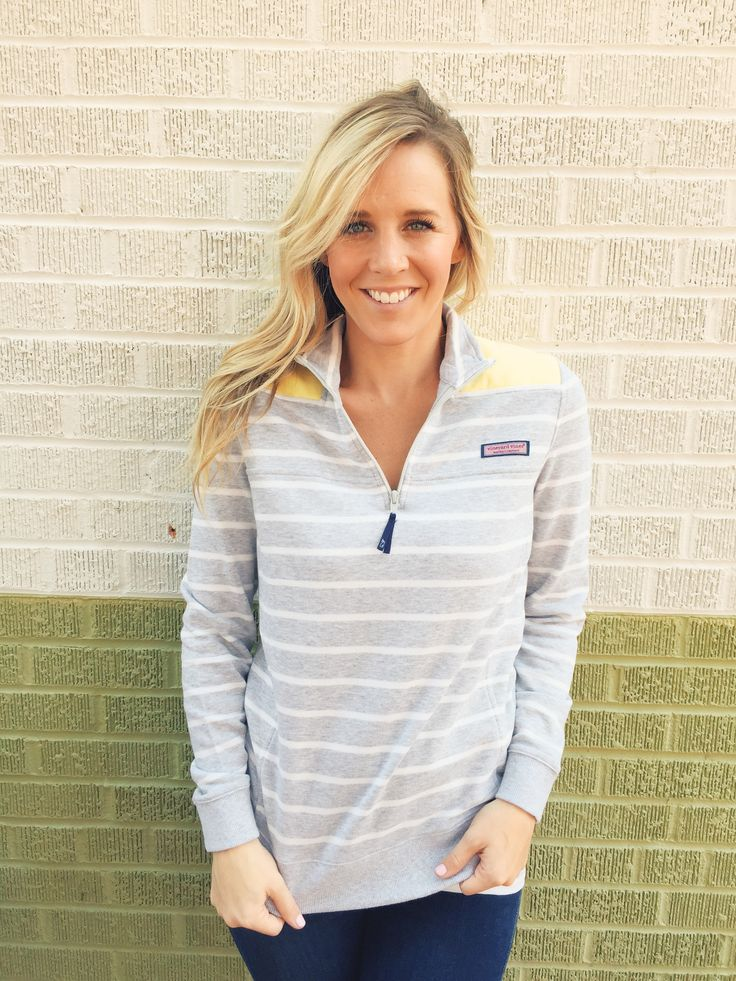 Vineyard Vines Striped Shep Shirt- Heather Grey from Shop Southern Roots TX