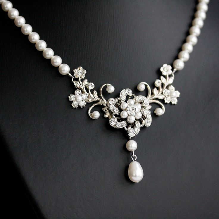 Best White Pearl Necklace Ideas On Pinterest Pearl Necklaces