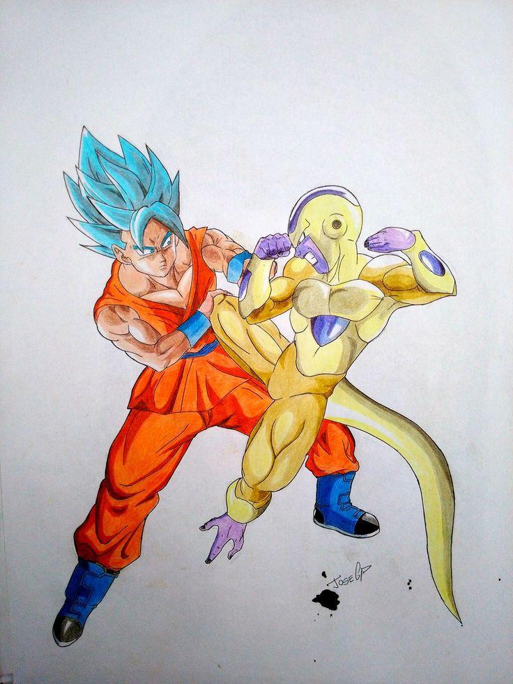 129 best goku super sayayin dios images on Pinterest  Dragon ball
