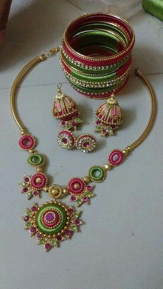 Pink n green