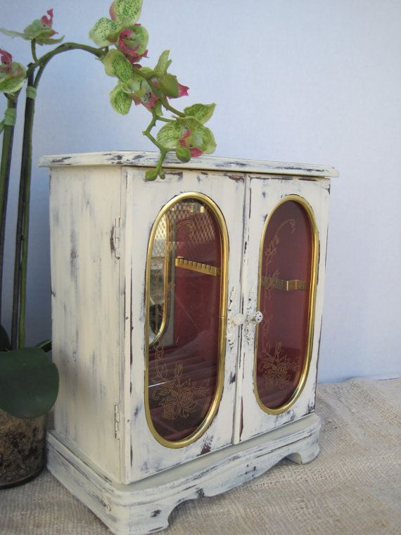 28 best Shabby Jewelry Boxes images on Pinterest Jewel box