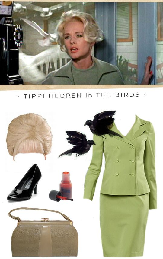 #halloween #costumes #hitchcock  About five years on the trot I've decided this will be my Halloween costume ... someday I'll actually get round to it!