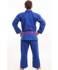 Atama Blue Single Weave Kimono Jiu Jitsu Training and Competition