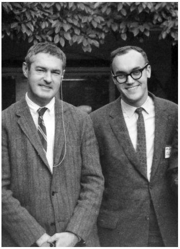 Dr. Timothy Leary and Dr. Richard Alpert (Ram Dass), Harvard, 1961