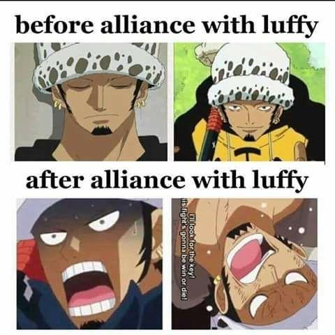 Antes y Después de una alianza!!! Lawki