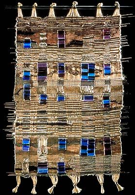 Early Chihuly 1964-66. Weaving with glass.