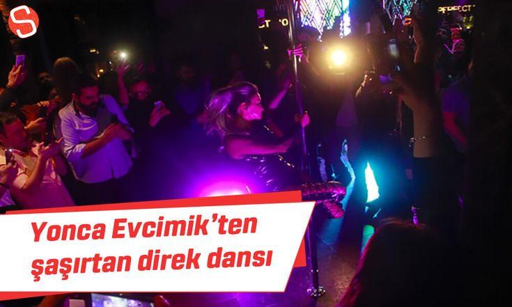 Yonca Evcimik'ten şaşırtan direk dansı #yoncaevcimik #kutlama #direkdansı