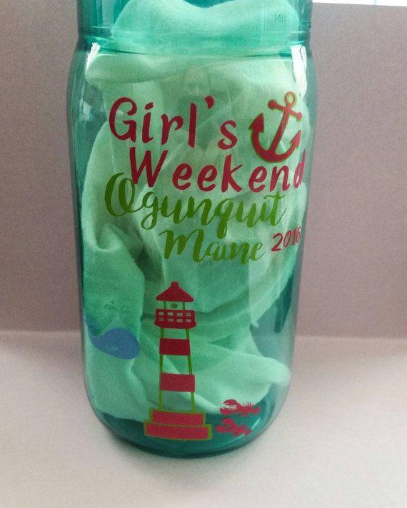 Plastic Mason Jars, Bella Jar Plastic Mug with #papergoods @EtsyMktgTool http://etsy.me/2agk5yW #acrylicmasonjar #bacheloretteparty