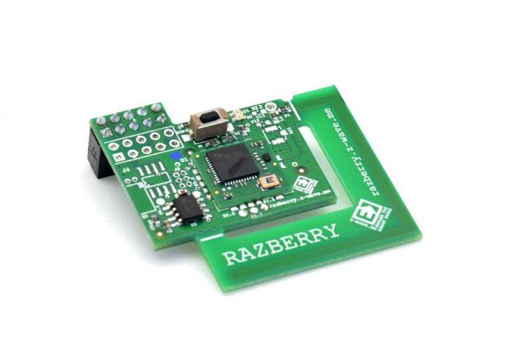 De RaZberry2 verandert elke Raspberry Pi in een Z-Wave Huisautomatisering Gateway. De hardware en voorgecompileerde Z-Wave draadloze netwerk management software wacht om te worden aangevuld met je eigen gebruikersinterface welke kan draaien in een webbrowser of een mobiele telefoon. De Z-Wave softwa